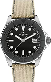 Mondia madison Mens Analog Quartz Watch with Nylon bracelet MI765-2CF