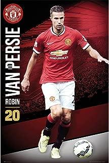 Premiership Soccer Robin Van Persie Manchester United Action Poster