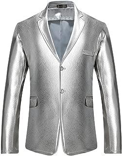 Men's Slim Fit Casual One Button Blazer Jacket Suits JZA127