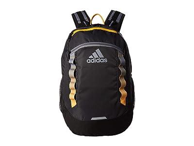 adidas Excel V Backpack (Carbon/Grey/Active Orange/Black) Backpack Bags