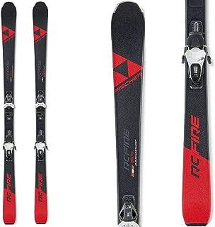 Fischer RC Fire Skis w/RS 9 GW SLR Bindings Mens Sz 155cm