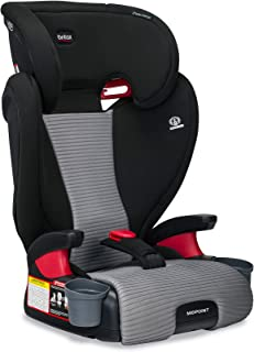 Britax Midpoint Belt-Positioning Booster Seat - 2 Layer Impact Protection - 40 to 120 Pounds - DualComfort Moisture Wickin...