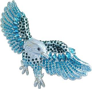 Sindary Unique Animal Bird Eagle Brooch Pin Pendant Rhinestone Crystal BP04717