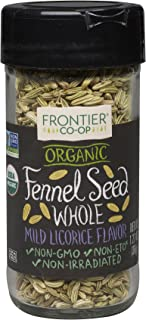 Frontier Natural Products Fennel Seed, Og, Whole, 1.27-Ounce