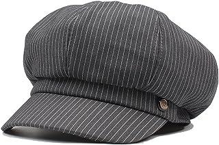 6989ae88ee9 Women s Cotton Octagonal Hat Spring Summer Newsboy Cap Gatsby Ivy Hat