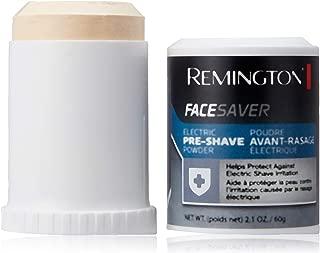 Remington Face Saver, Pre-Shave Powder Stick 2.1 oz (Pack of 2)