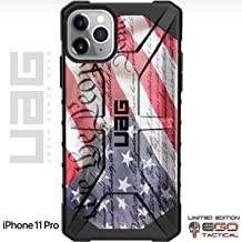 Limited Edition Customized Prints by Ego Tactical Over a UAG Urban Armor Gear Case for Apple iPhone 11 Pro - We The People Constitution Flag