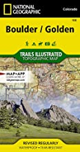 Boulder, Golden (National Geographic Trails Illustrated Map)