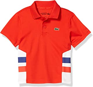 Boys' Sport Striped Ultra Dry Polo Shirt