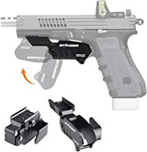 Stinger Tactical Trigger Guard Holster, Concealment System, Minimalist Concealed Carry Holster, Clip & Quick Draw, Flip to Open, IWB Inside The Waistband Conceal Carry
