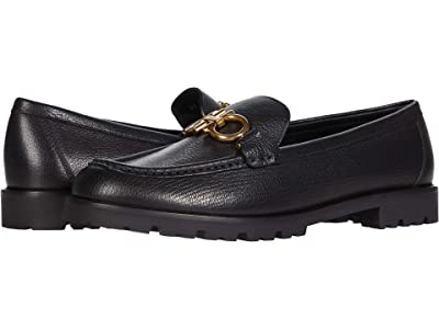 Salvatore Ferragamo Rolo Loafer (Nero 1) Women
