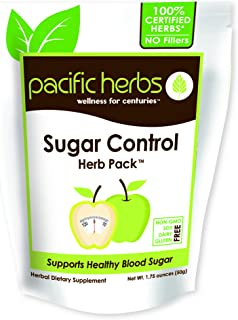 Pacific Herbs Natural Blood Sugar Support Herbs