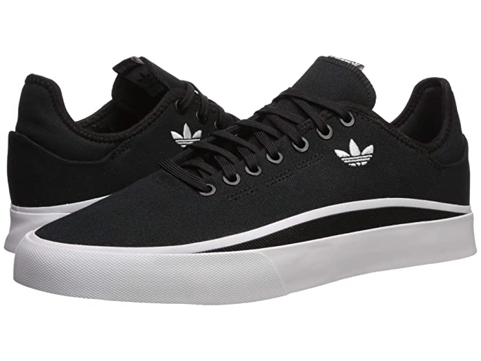 adidas Originals Sabalo sneakers in black and white