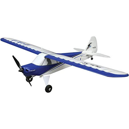 HobbyZone Sport Cub S 2 RC Airplane BNF Basic with Safe (Transmitter, Battery and Charger Not Included), HBZ44500, Blue & White