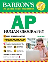 Barron's AP Human Geography with Online Tests (Barron's Test Prep)