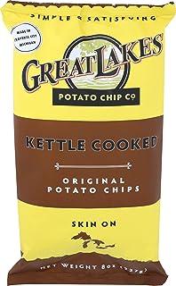 Great Lakes Potato Chips, Chip Potato Original, 8 Ounce