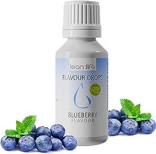 Lean:Life GmbH Flave Drops | Natural Flavour | Vegan | Sugar Free | Fat Free |Low Calorie | Flavor Drops For Quark, Yogurt...
