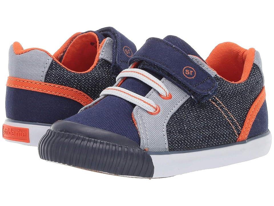 Stride Rite SR Parker (Toddler) (Navy) Boys Shoes