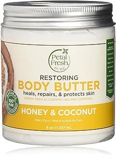 Petal Fresh Honey and Coconut Body Butter Moisturizer, 250 ml