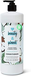 Love Beauty And Planet Volume and Bounty Thickening Conditioner Hair Thickener for Fine Hair Coconut Water and Mimosa Flower Silicone-Free, Vegan, Volume Hair Products 32.3 oz