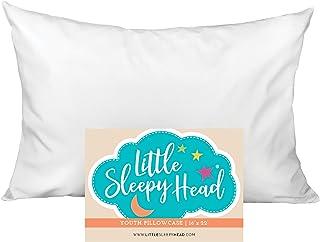 Little Sleepy Head Youth Pillowcase 16 x 22-100% Cotton & Hypoallergenic (White Envelope)