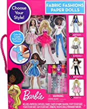 Barbie Fabric Fashion Paper Dolls