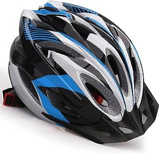 Casco de Bicicleta,KINGLEAD Casco Bicicleta Adulto Certificado CE Casco Bici para Hombre con Visera Desmontable Casco Bici...