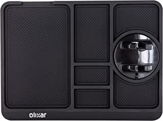 Olixar Non Slip Dashboard Mat - Car Dash Anti Slip Mat with Phone Holder - Stop Items Sliding on your Dashboard - Large No...