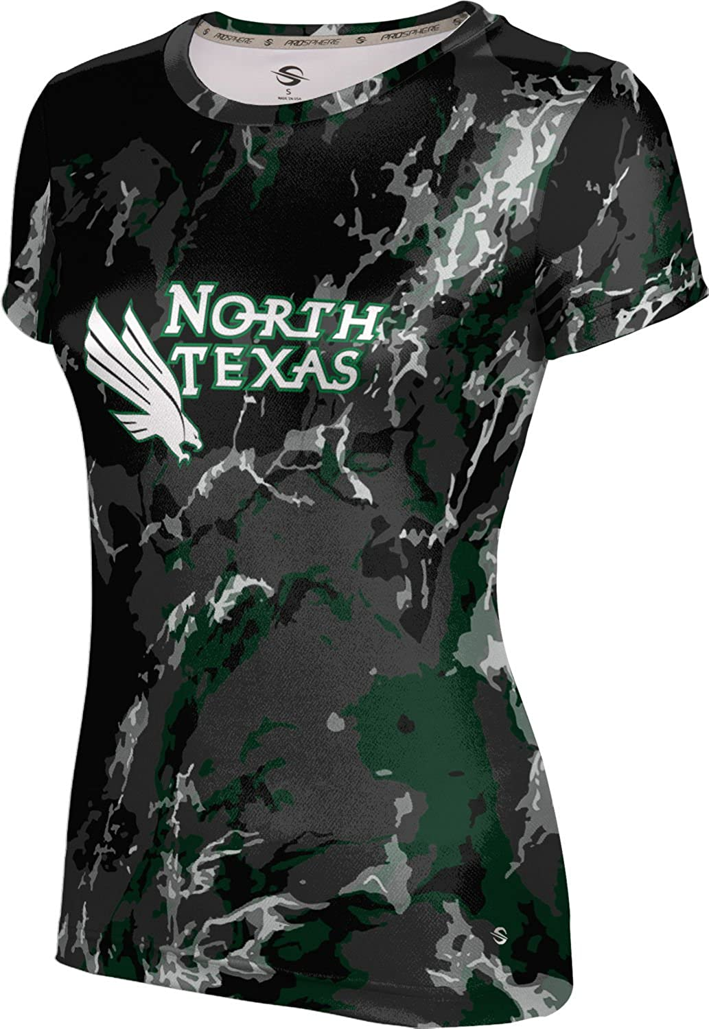 ProSphere University of North Texas Girls' Performance T-Shirt (Marble)