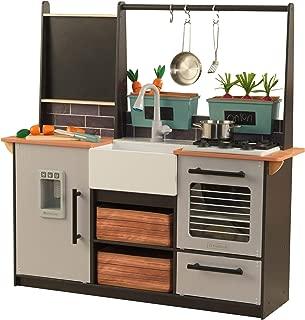 KidKraft Farm to Table Play Kitchen Set, Large, Multicolor (Renewed)
