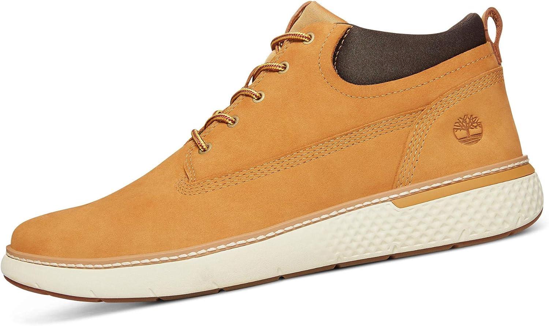a tiempo Ambigüedad Redada  Timberland Cross Mark Chukka Boots Tan: Amazon.co.uk: Shoes & Bags