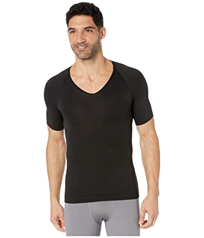 Spanx for Men Zoned Performance Compression V-Neck (Black) Men