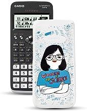 Casio FX-570SPXII Iberia - Calculadora científica con ilustración de Jess Wade en la tapa, (576 funciones, 12 dígitos), color negro y blanco