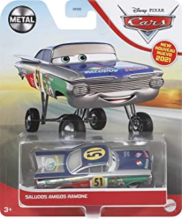 Disney Pixar Cars Saludos Amigos Ramone 1:55 scale Fan Favorite Character Vehicles for Racing and Storytelling Fun, Gift f...
