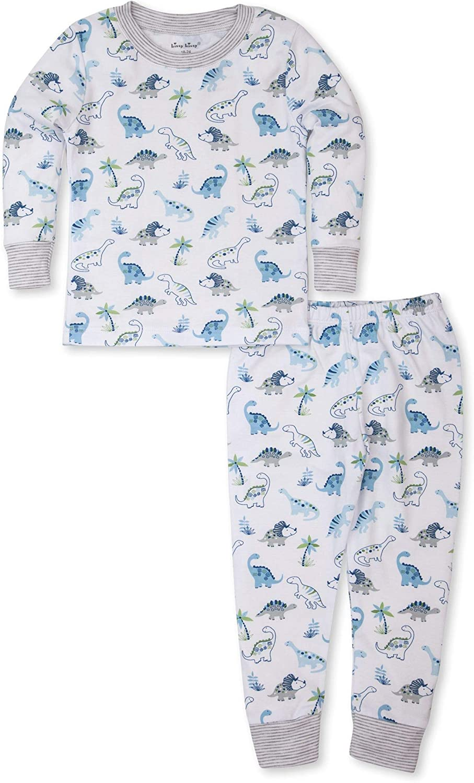 Kissy Kissy Baby-Boys Infant Happy-Saurus Print Long Pajamas Set