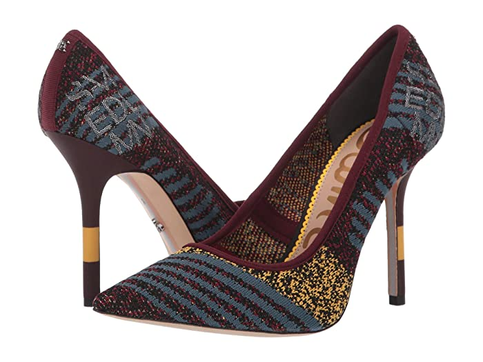 Sam Edelman  Alden (Cabernet Multi Sport Knit) Womens Shoes