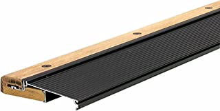 M-D Building Products 78634 1-1/8-Inch by 5-5/8-Inch - 36-Inch TH394 Adjustable Aluminum and Hardwood Sill Inswing, Bronze