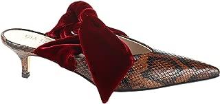 GIA COUTURE Luxury Fashion Womens BANDANAGIRLA408BROWNPYTON Brown Heels | Fall Winter 19