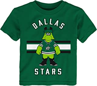Outerstuff NHL Dallas Stars Children Unisex Mascot Life Short Sleeve Tee, 2T, Kelly Green