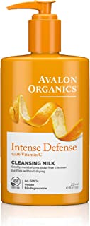 Avalon Organics Intense Defense Cleansing Milk, 8.5 oz.
