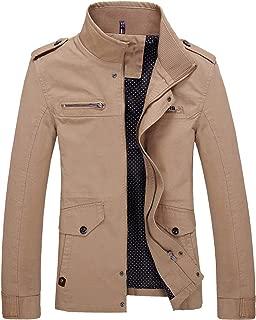 Men Jacket Coats Trench Coat Casual Silm Fit Overcoat Black Bomber Jacket Male
