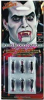 كبسولات الدم هالوين مصاص دماء
