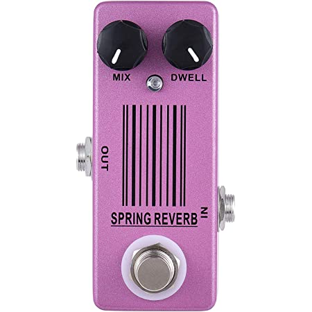 Mosky Spring Reverb Guitar Mini Effect Pedal