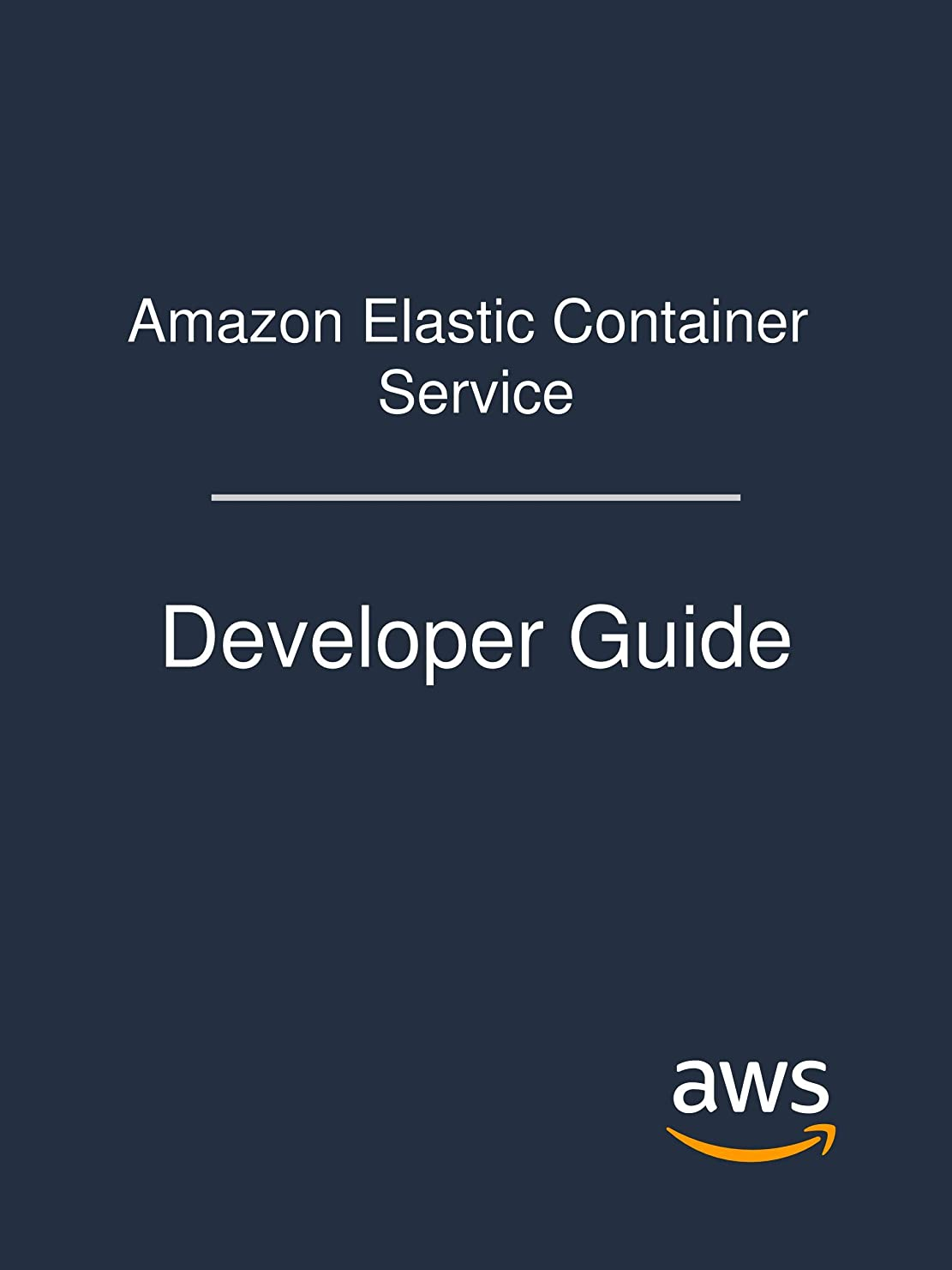 公使館屋内でピットAmazon Elastic Container Service: Developer Guide (English Edition)