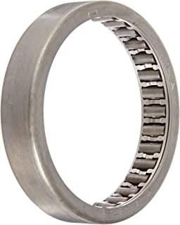 """INA SCE328 Needle Roller Bearing, Steel Cage, Open End, Inch, 2"""" ID, 2-3/8"""" OD, 1/2"""" Width, 5500rpm Maximum Rotational Speed, 7900lbf Static Load Capacity, 4900lbf Dynamic Load Capacity"""