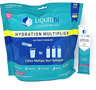 Liquid I.V. Hydration Multiplier 30 Stick, 16.93 Ounce