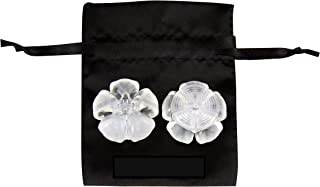 Clear High Heel Protectors - Stops Your Heels Sinking in Grass - Crystal Clear with Carry Pouch