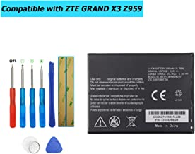 Upplus Li3831T43P4H826247 Replacement Battery Compatible with ZTE Z959,Grand X 3 LTE,Grand X 3 with Toolkit