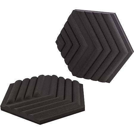 Elgato Wave Panels: 6 Acoustic Treatment Panels, Dual Density Foam, Proprietary EasyClick Frames, Modular Design, Easy Setup and Removal