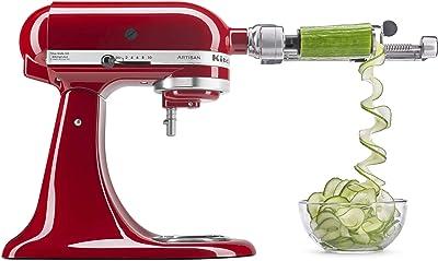 KitchenAid KSM2APCQ 7 Blade Spiralizer Plus with Peel, Core and Slice